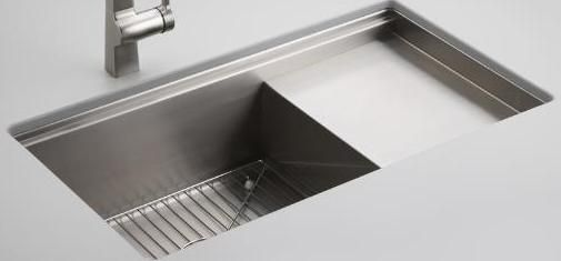 Kohler 1.0 Bowl Sink 3760 - Stainless Steel Image 1