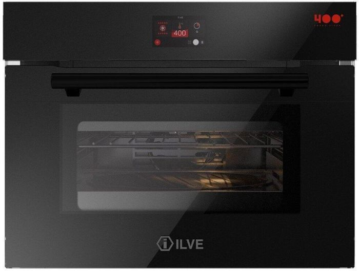 Ilve Single Oven Electric 645SZTCT4 - Black Image 1