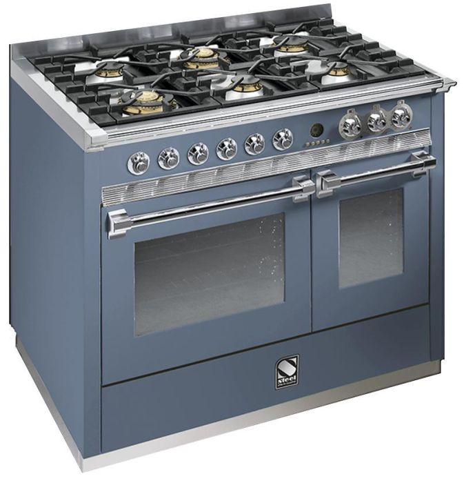 Steel Range Cooker Dual Fuel A10FF-6W - Various Colours Image 1