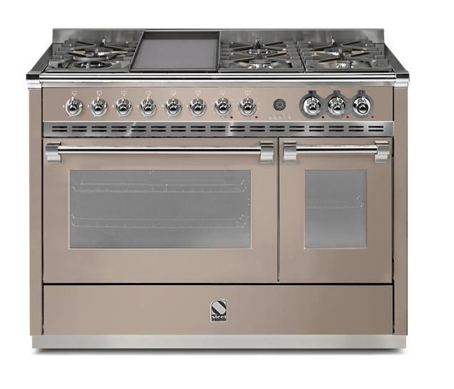 Steel Range Cooker Dual Fuel A12FF-6T - Various Colours Image 1