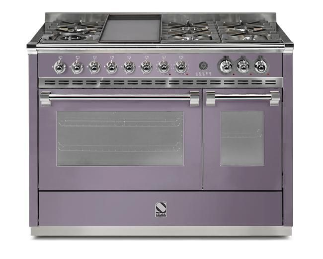 Steel Range Cooker Dual Fuel A12SF-6T - Various Colours Image 1