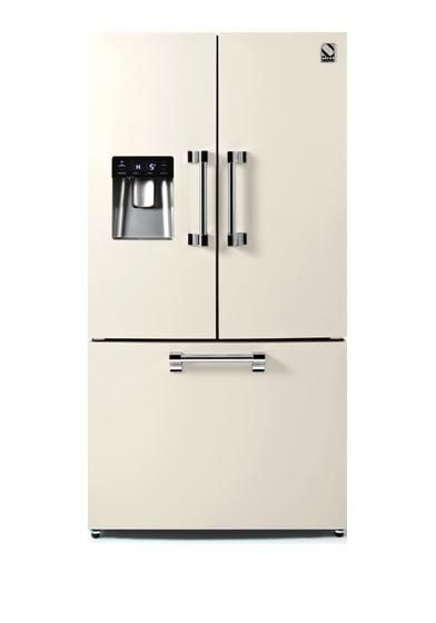 Steel Freestanding American Style Refrigeration AFR-9F - Various Colours Image 1