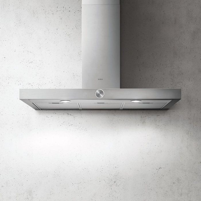 Elica Chimney Hood ALPHA-90-SS - Stainless Steel Image 1