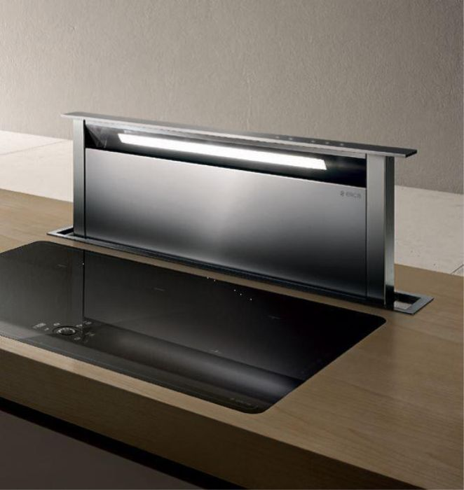 Elica Down Draft Extractor AND-GME-90-SS - Stainless Steel Image 1