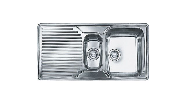 Franke 1.5 Bowl Sink ARX651PLC - Stainless Steel Image 1