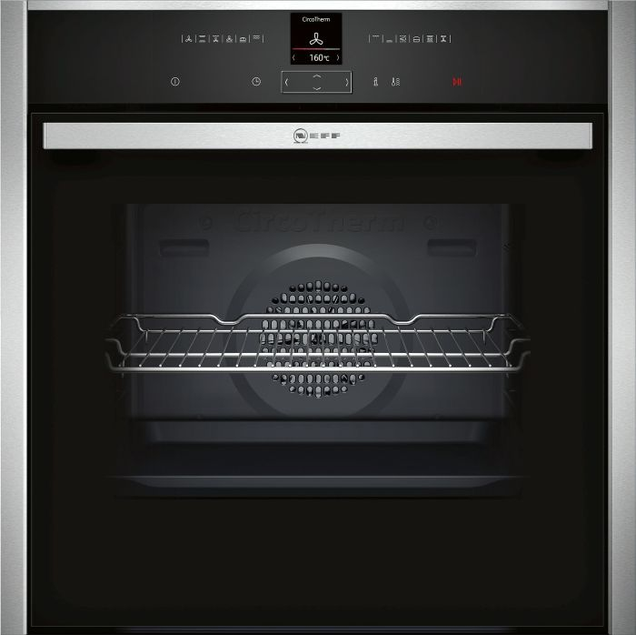 NEFF Single Oven Electric B17CR32N1B - Stainless Steel Image 1
