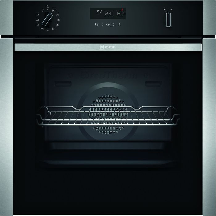 NEFF Single Oven Electric B4ACM5HH0B - Stainless Steel Image 1