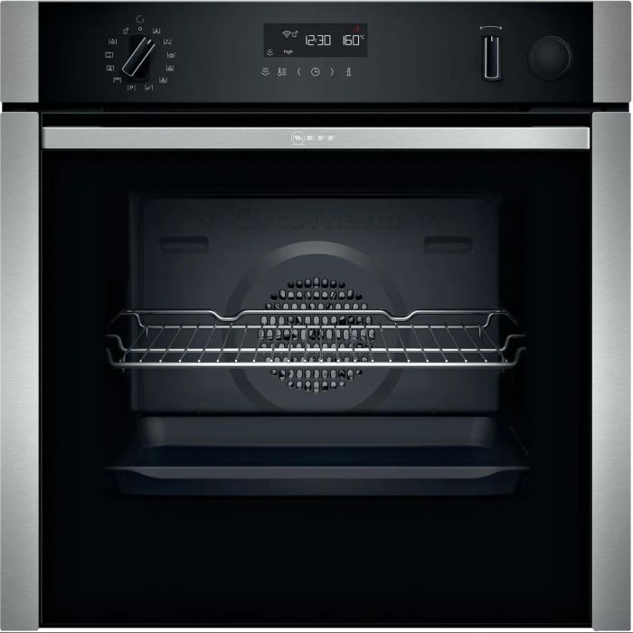 NEFF Single Oven Electric B5AVM7HH0B - Stainless Steel Image 1