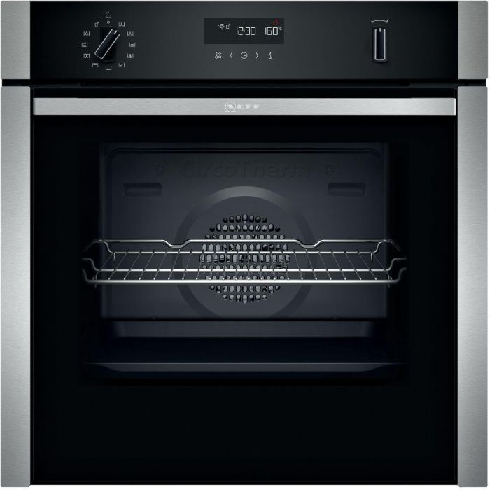 NEFF Single Oven Electric B6ACH7HH0B - Stainless Steel Image 1