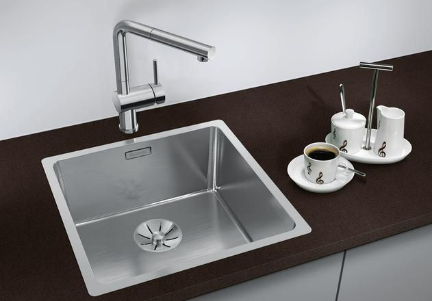 Blanco 1.0 Bowl Sink BLANCOANDANO-400-IF - Stainless Steel Image 1