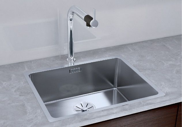 Blanco 1.0 Bowl Sink BLANCOANDANO-500-IF - Stainless Steel Image 1