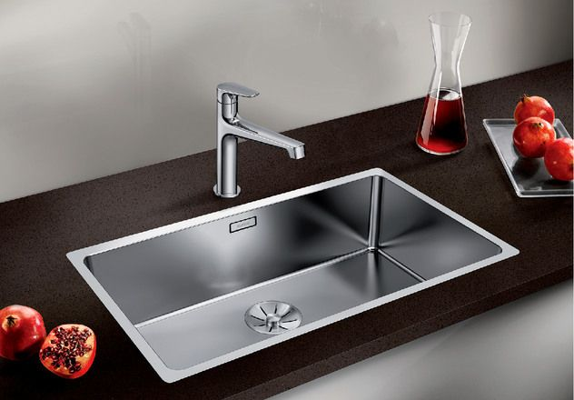 Blanco 1.0 Bowl Sink BLANCOANDANO-700-IF - Stainless Steel Image 1