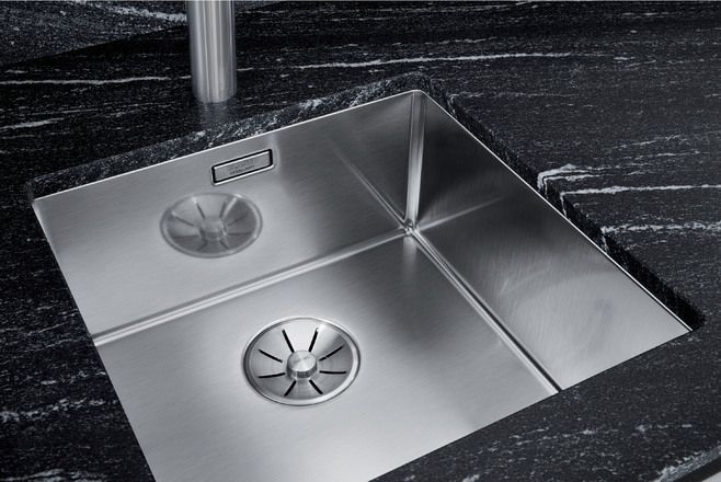 Blanco 1.0 Bowl Sink BLANCOCLARON-340U - Stainless Steel Image 1