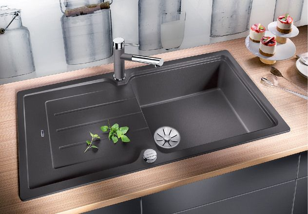Blanco 1.5 Bowl Sink BLANCOCLASSIC-NEO-XL-6-S - Various Colours Image 1