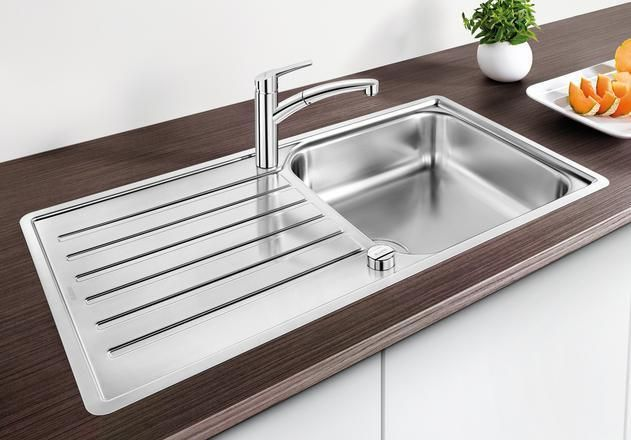Blanco 1.0 Bowl Sink BLANCOLANTOS-XL-6S-IF - Stainless Steel Image 1