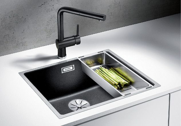 Blanco 1.0 Bowl Sink BLANCOSUBLINE500-IF - Various Colours Image 1