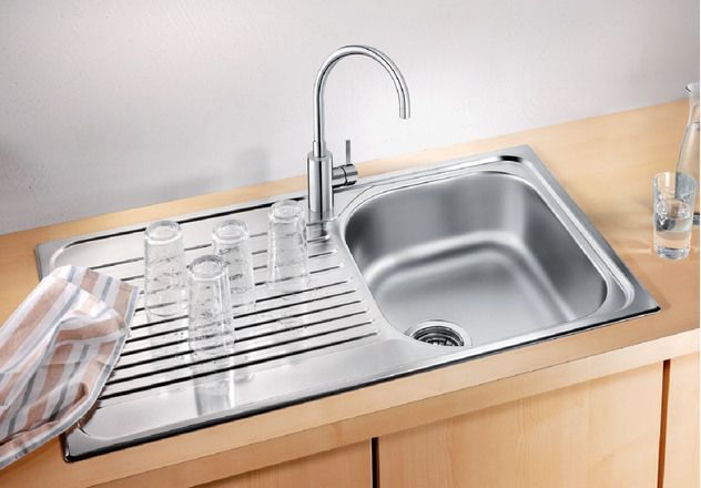 Blanco 1.0 Bowl Sink BLANCOTIPO-45S - Stainless Steel Image 1