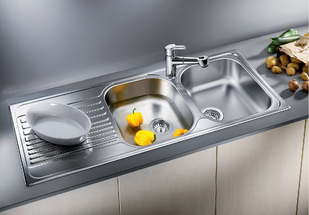 Blanco 2.0 Bowl Sink BLANCOTIPO-8S - Stainless Steel Image 1