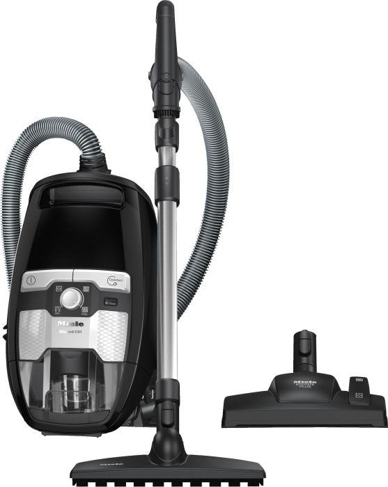 Miele Cylinder Cleaner BLIZZARD-CX1-PARQUET-POWERLINE - Obsidian Black Image 1