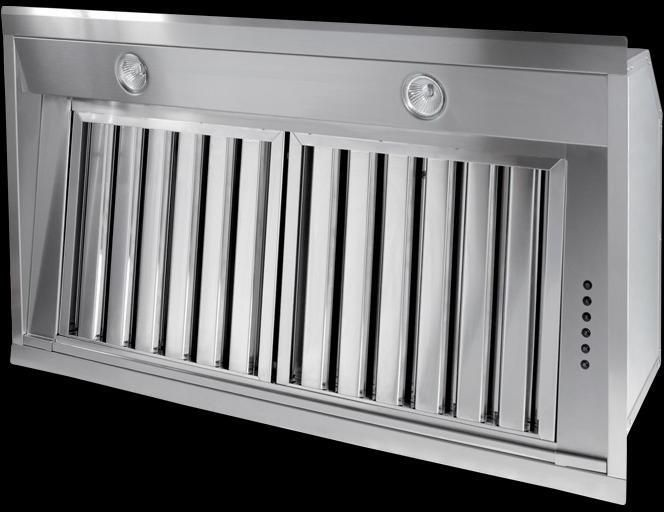 Westin Canopy Hood BLOQUE-860 - Stainless Steel Image 1