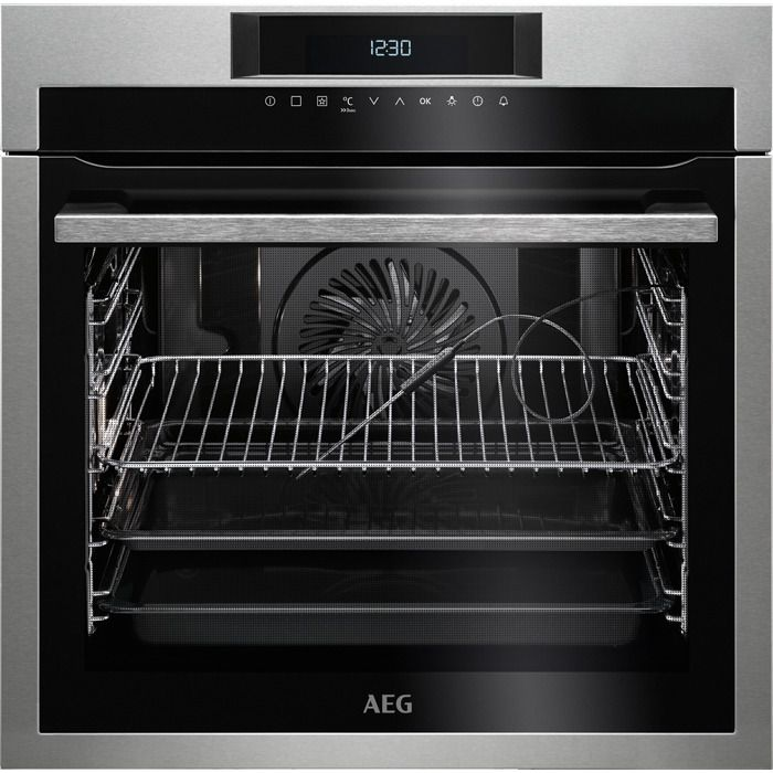 AEG Single Oven Electric BPE642020M - Stainless Steel Image 1