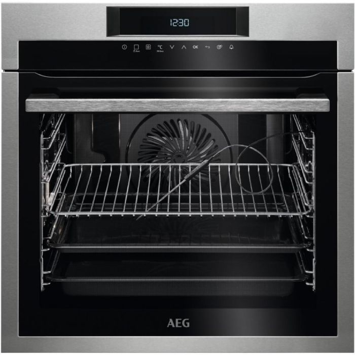 AEG Single Oven Electric BPE742320M - Stainless Steel Image 1