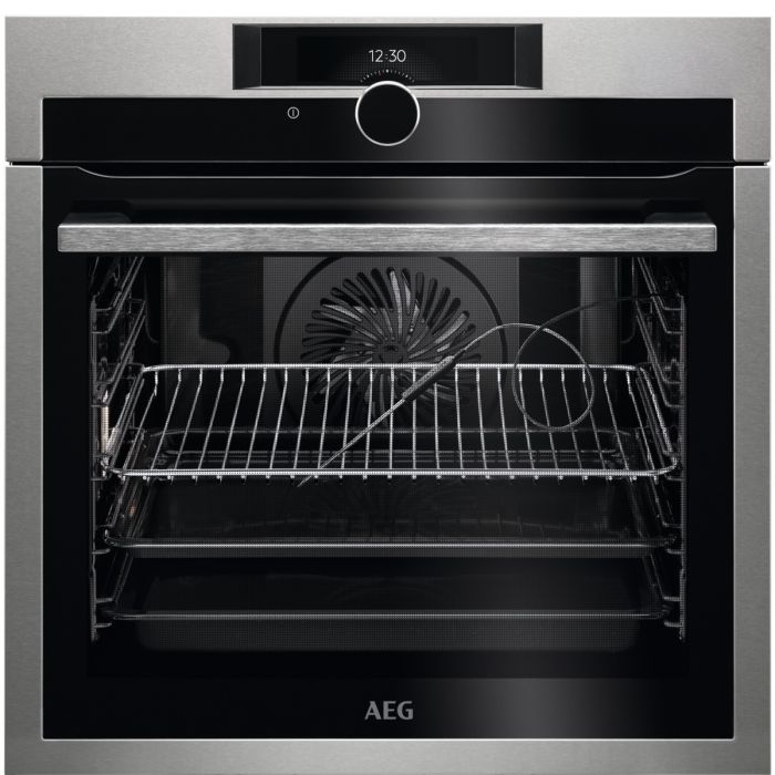 AEG Single Oven Electric BPE842720M - Stainless Steel Image 1