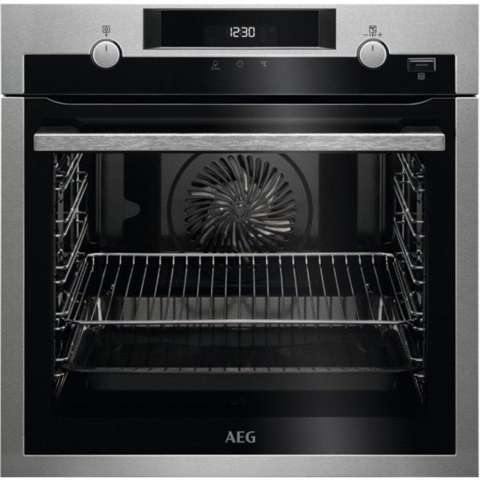 AEG Single Oven Electric BPS555020M - Stainless Steel Image 1