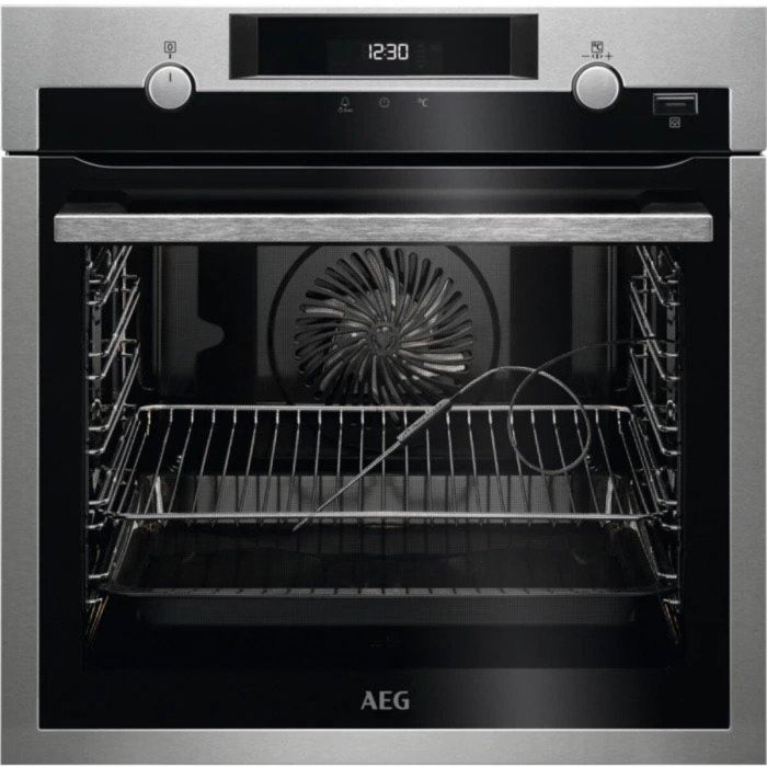 AEG Single Oven Electric BPS556020M - Stainless Steel Image 1