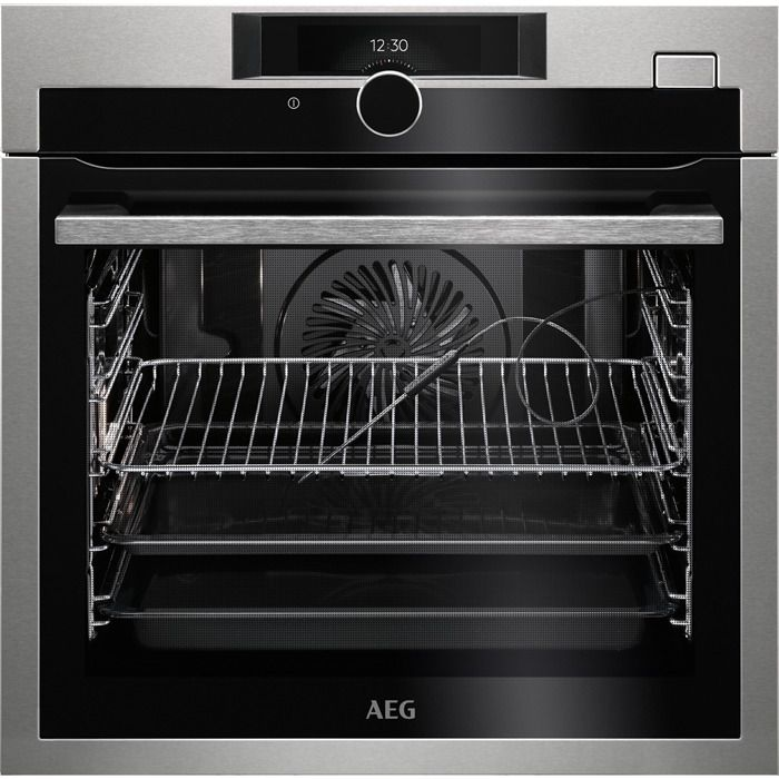 AEG Single Oven Electric BSE882320M - Stainless Steel Image 1