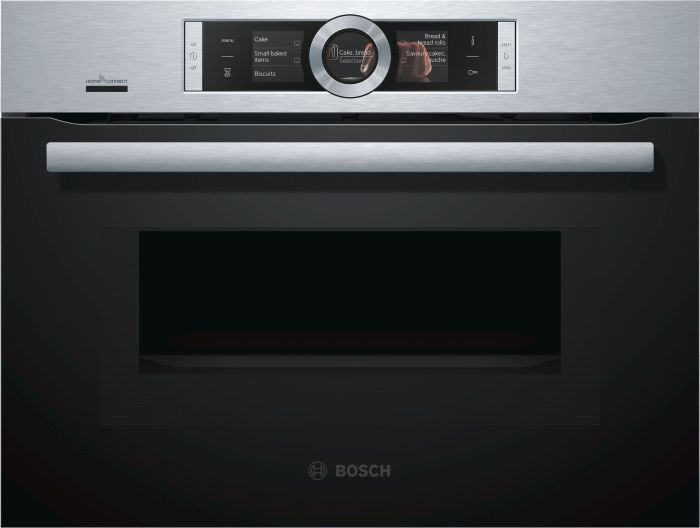 Bosch Combi Microwave CMG656BS6B - Stainless Steel Image 1