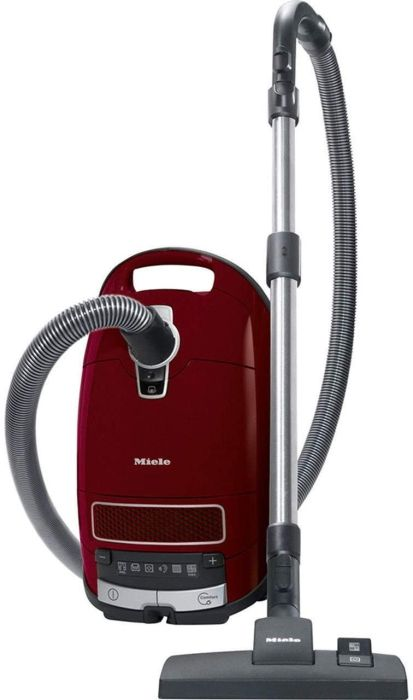 Miele Cylinder Cleaner COMPLETE-C3-PURE-RED-POWERLINE - Tayberry Red Image 1
