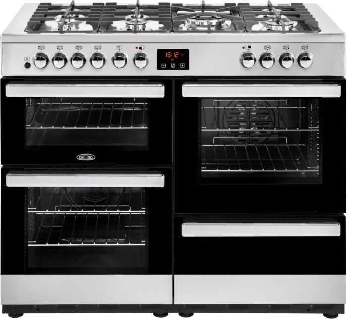 Belling Range Cooker Dual Fuel COOKCENTRE-110DFT - Various Colours Image 1