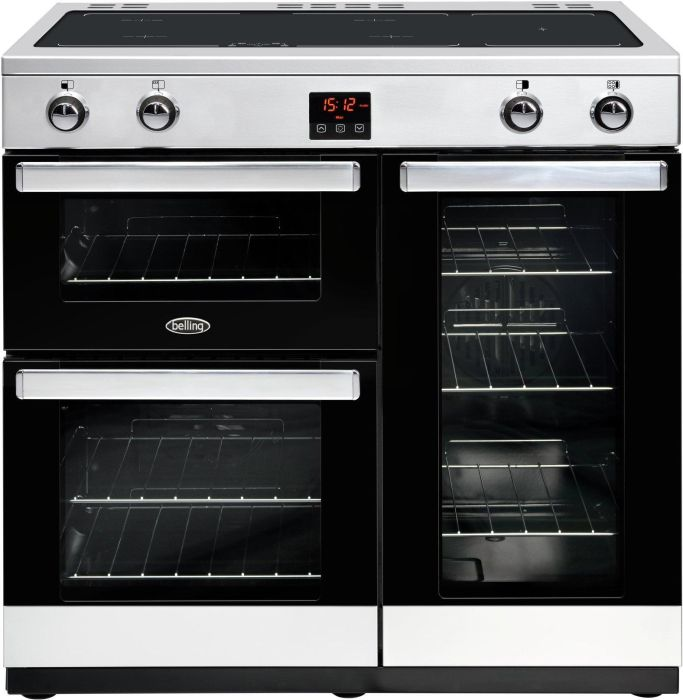 Belling Range Cooker Induction COOKCENTRE-90EI - Various Colours Image 1
