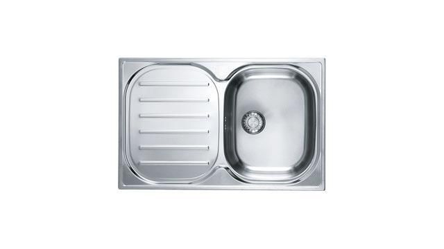 Franke 1.0 Bowl Sink CPXP61178RC - Silk Steel Image 1