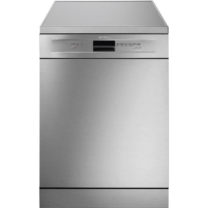 Smeg Freestanding 60 Cm Dishwasher DF13EF2X - Stainless Steel Image 1