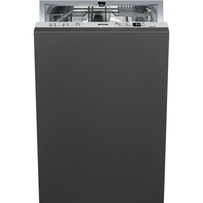 Smeg Built In 45 Cm Dishwasher Fully DI410T - Fully Integrated Image 1