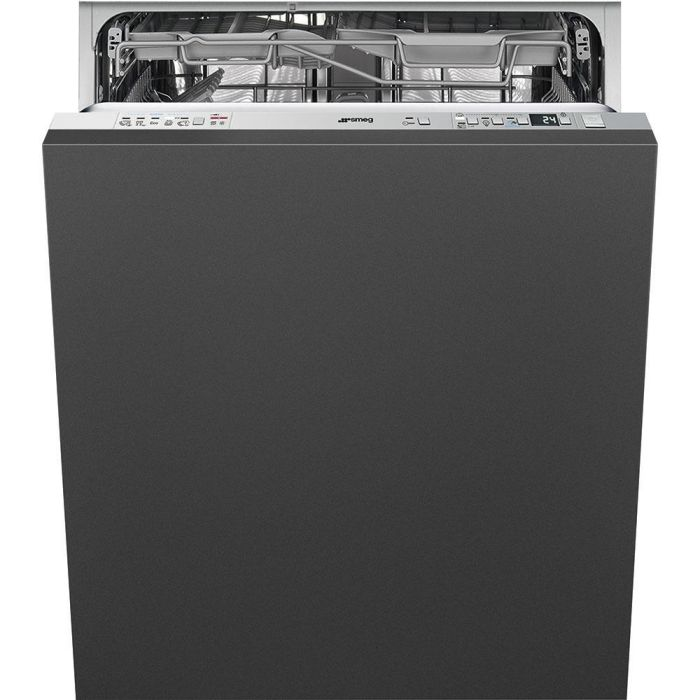 Smeg Built In 60 Cm Dishwasher Fully DI613PNH - Fully Integrated Image 1