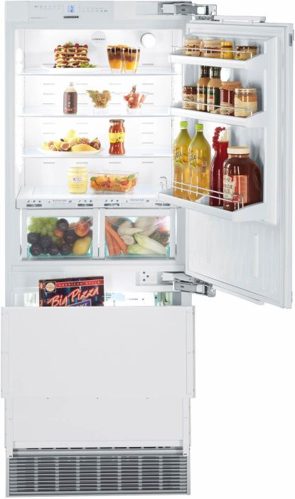 Liebherr Built In Fridge Freezer Frost Free ECBN5066-RH - Fully Integrated Image 1