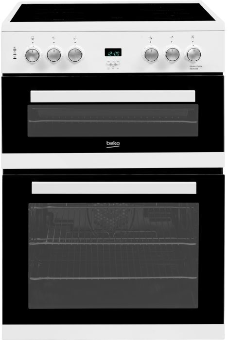 Beko Slot In Cooker Ceramic EDC633W - White Image 1