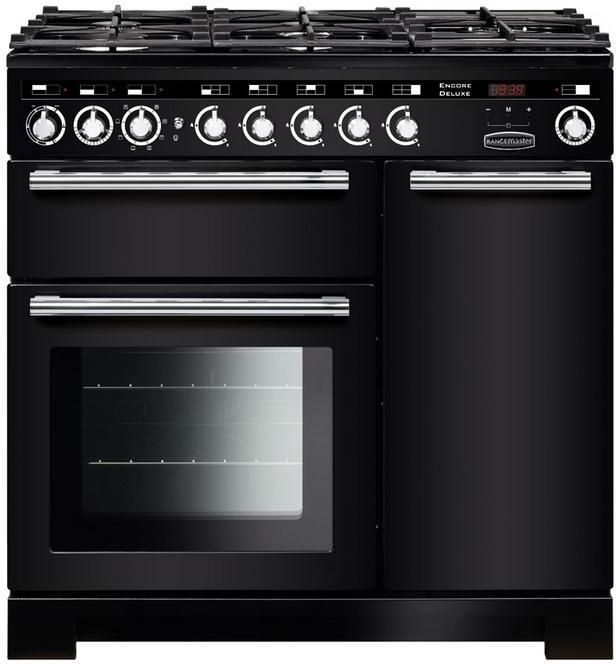 Rangemaster Range Cooker Dual Fuel EDL90DFF - Various Colours Image 1