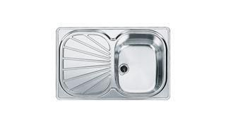 Franke 1.0 Bowl Sink EUX61178C - Silk Steel Image 1