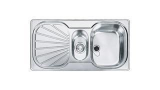 Franke 1.5 Bowl Sink EUX651RC - Stainless Steel Image 1