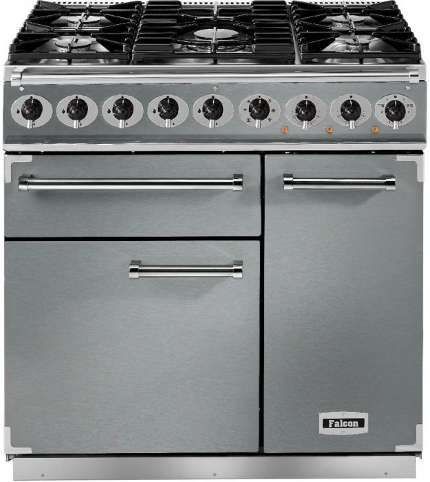 Falcon Range Cooker Dual Fuel F900DXDFSS-CM - Stainless Steel / Chrome Image 1