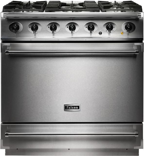 Falcon Range Cooker Dual Fuel F900SDFSS-CM - Stainless Steel / Chrome Image 1