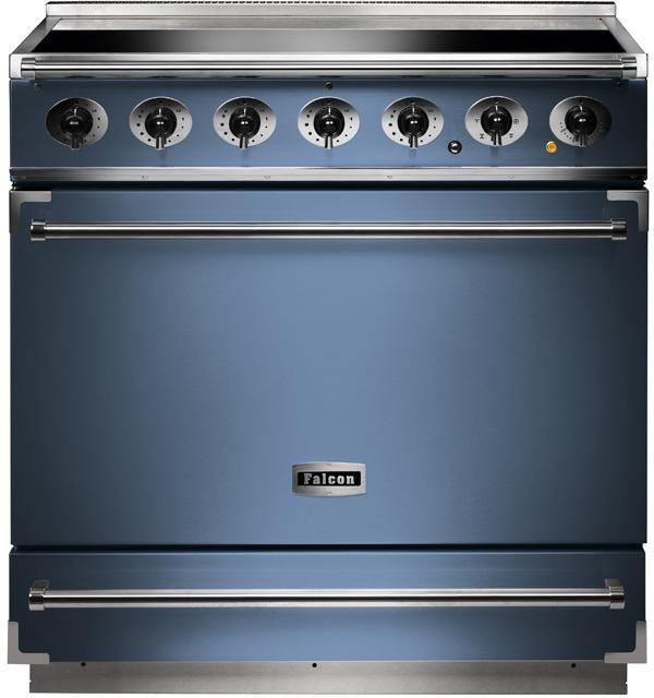 Falcon Range Cooker Induction F900SEICA-N - China Blue / Nickel Image 1