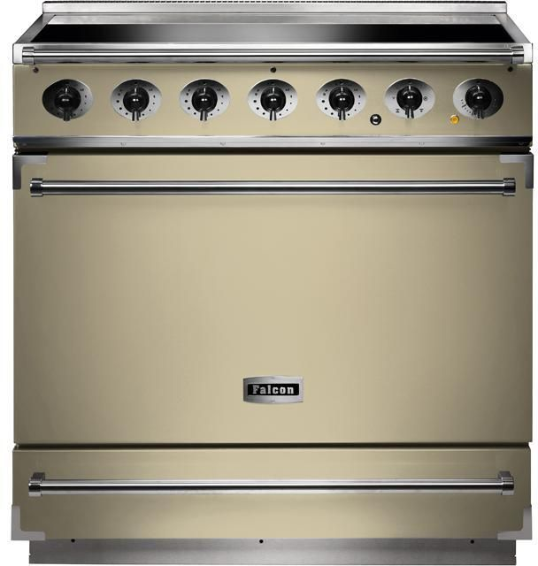 Falcon Range Cooker Induction F900SEICR-C - Cream / Chrome Image 1