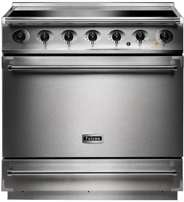 Falcon Range Cooker Induction F900SEISS-C - Stainless Steel / Chrome Image 1