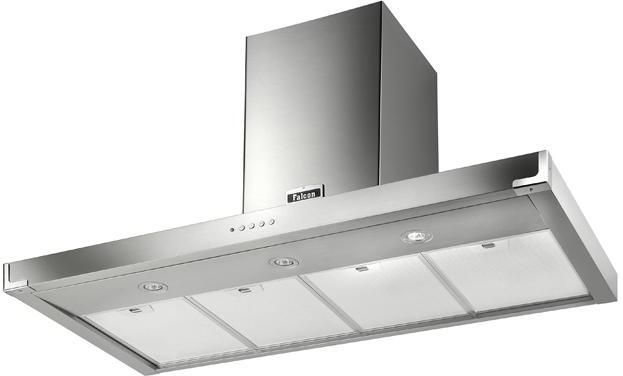 Falcon Chimney Hood FHDSF1100 - Various Colours Image 1