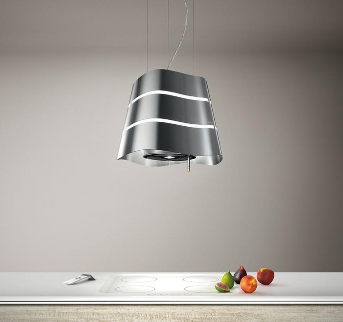 Elica Ceiling Mounted Hood FLOW - Various Colours Image 1